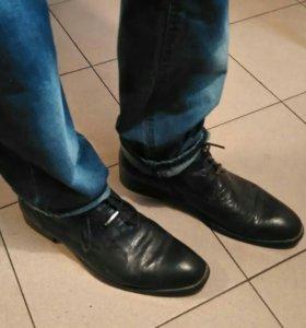 Ботинки осень-весна мужские