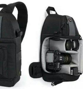 Рюкзак для фотокамеры Lowepro SlingShot 202 новый