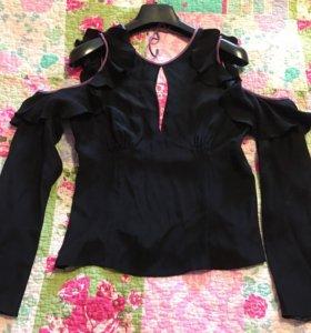 шёлковая блузка HUGO BOSS