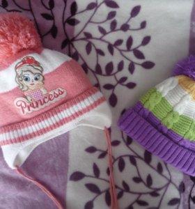 Зимняя и весенняя шапки