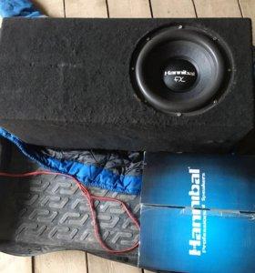 Продам Hannibal fx 30d2 + силовые провода