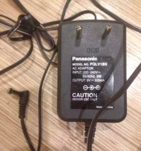 Блок питания Panasonic AC Adaptor PQLV19V DC 500mA