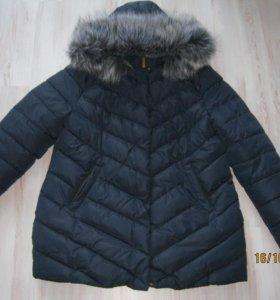 пуховик - куртка зимняя возможен торг