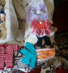 Шью одежку на кукол