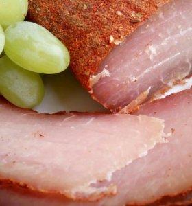 Домашняя бастурма (сыровяленное мясо)