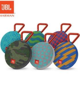 Влагозащищенная Bluetouth колонка JBL® Clip 2
