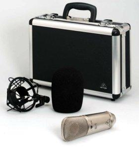 Студийный конденсаторный кардиоидный микрофон