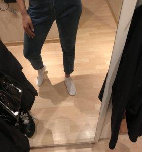 Mom jeans s-m джинсы s