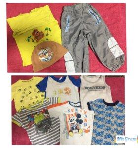 Пакет новых вещей для мальчика рр 92