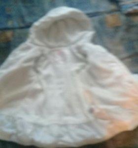 Детское пальто на синтепоне