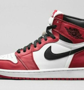Кроссовки Nike air jordan retro high 1 bulls