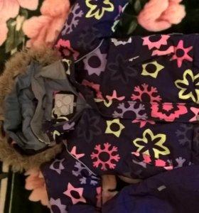 Комплект зимний(штанишки +куртка)hyppa