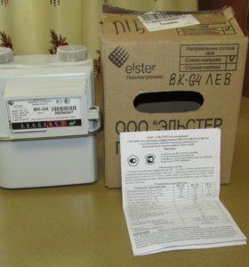 счётчик газа диафрагменный elster BK-G4