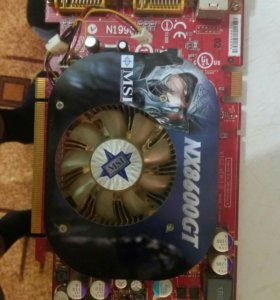 Видеокарта MSI nx8600gt 256mb