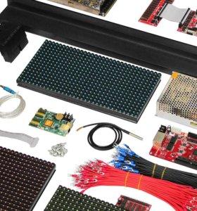 Комплектующие для светодиодных экранов и LED строк