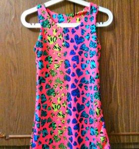 Мини платье-туника