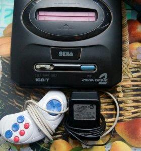 SEGA mega drive 2 прямиком из 90-х