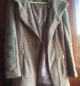 Тёплое осеннее пальто