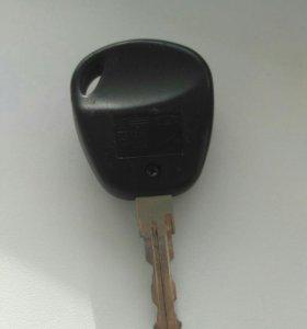 Ключ зажигания с пультом