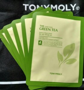 Тканевая маска TONY MOLY green tea