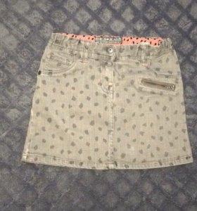 Юбка джинсовая 6-7 лет р-р 116-122