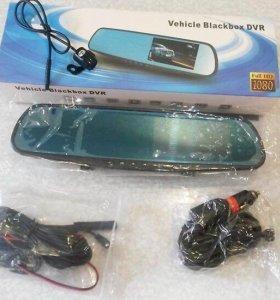Зеркало заднего вида с видеорегистратором: DVR1080