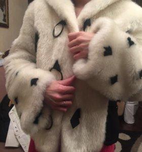 Меховая куртка-полушубок. Р.46