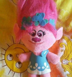 Мягкая игрушка тролль Розочка