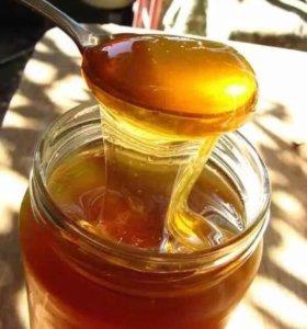 Мёд разнотравье . Урожай август 2017
