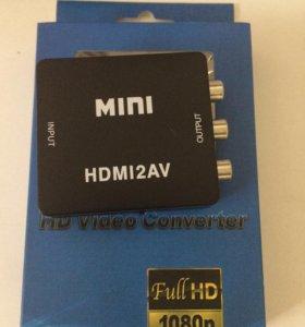 Конвертер HDMI на 3 RCA