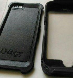 Противоударный водонепроницаемый чехол iPhone 5/s