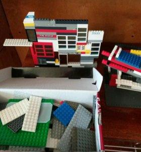 Лего.много!!!конструктор!