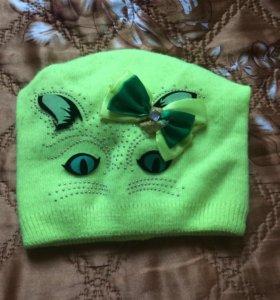 Осенние шапочки на девочку