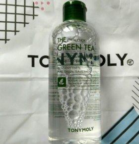 Мицеллярная вода TONY MOLY green tea