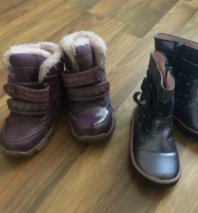 Ботинки на девочку 20 размер