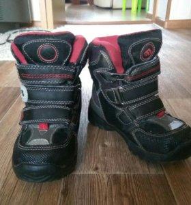 Ботинки зимние 26 размер