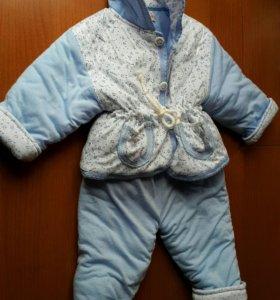 Теплый костюм