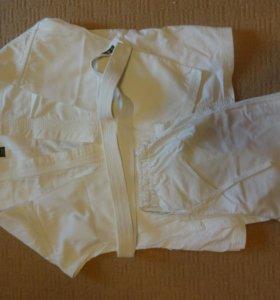 Кимоно + штаны для спорта рост 152 и 165 см