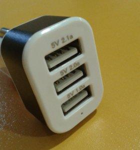 """зарядное устройство USB автомобильное """"Smartbuy"""""""