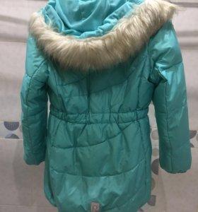 Зимняя куртка Reima на девочку рост 146