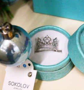 Кольцо корона от SOKOLOV