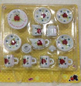 Фарфоровая посуда для кукол