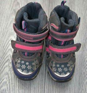 Зимние ботинки для девочки размер 26