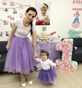 Юбки-мама и дочка