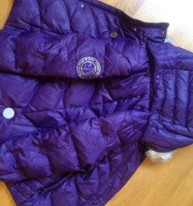 Куртка зимняя  на девочку Пуховик Рейма размер 110