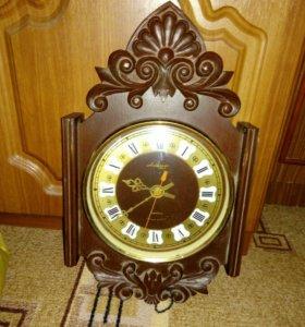 Часы настенные. Сделано в СССР.