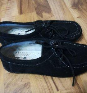Ботинки замша 36 размер