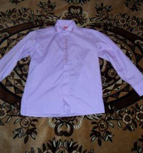 рубашка на мальчика рост 104-110