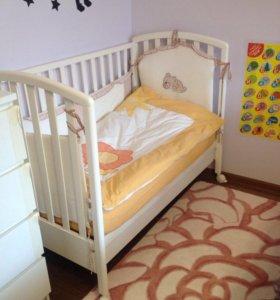 Детская кроватка Мibb