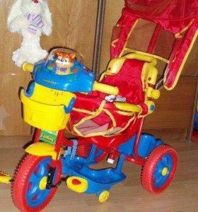 детский трехколесный велосипед «леопольд»